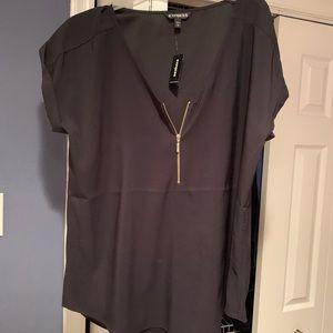 Express women's short sleeve shirt